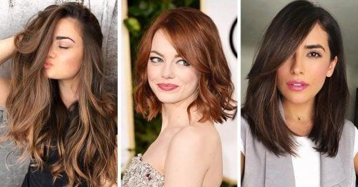 Elige el mejor tono de castaño para realzar tu belleza; todos son hermosos