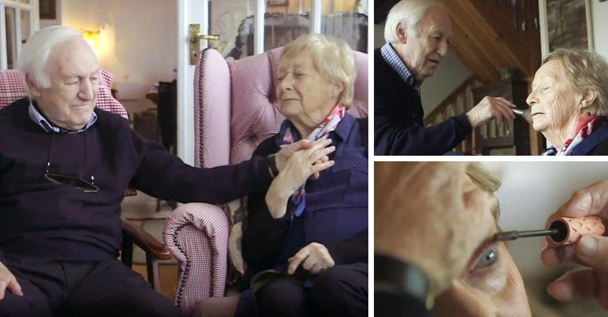 Tiene 84 años y aprendió a maquillar a su esposa; el maquillista de KimKardashian está sorprendido