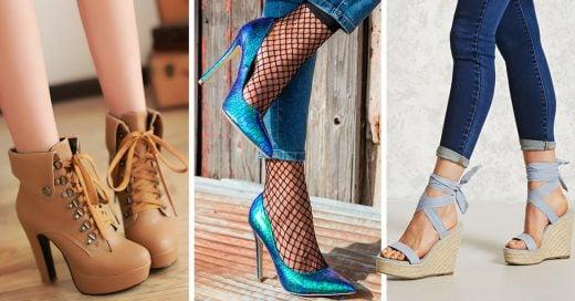 Zapatos perfecto para las chaparritas