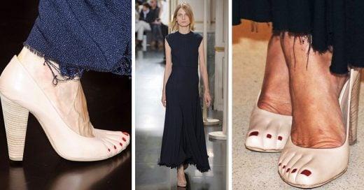 Zapatos con dedos, una extraña y abominable tendencia
