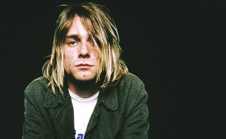 Cantante de nirvana Kurt Cobain
