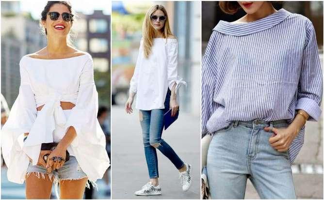 chicas con blusas de colores claros
