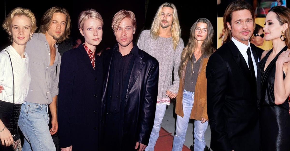 Una usuaria de Twitter descubrió que Brad Pitt siempre luce como sus parejas