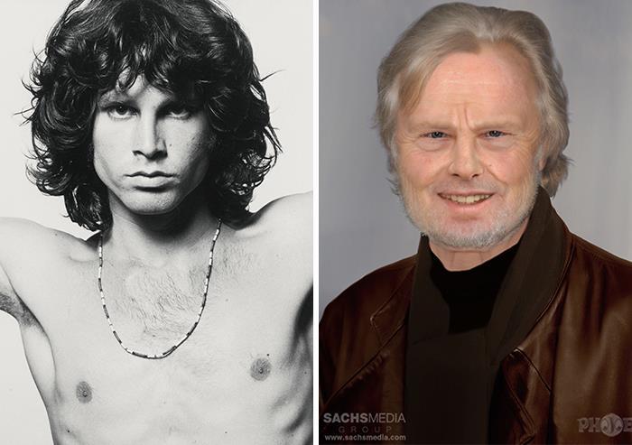 Jim Morrison y cómo se vería si estuviera vivo