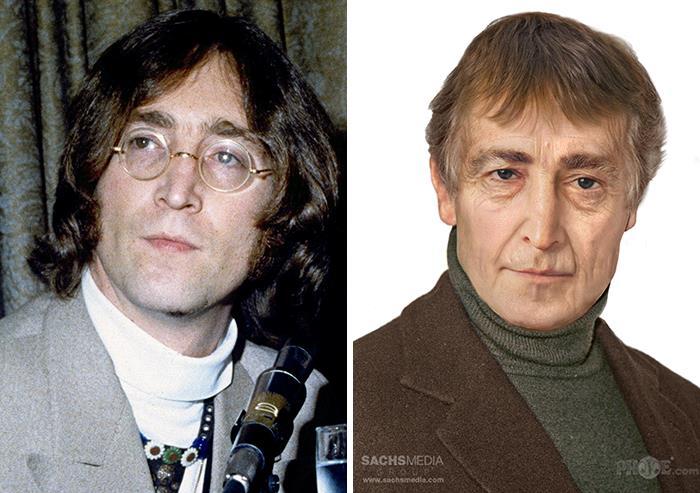 John Lennon y cómo se vería si estuviera vivo