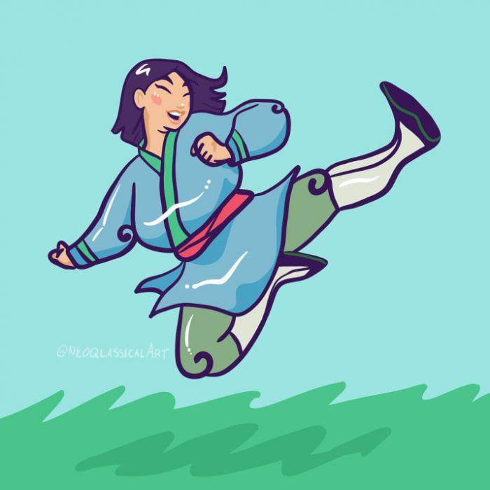 dibujo de princesa Disney