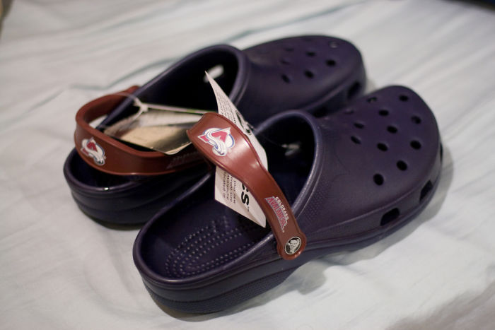 Crocs clasicos en color azul