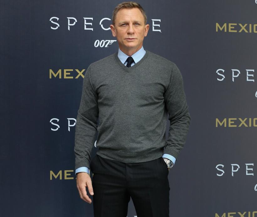 Daniel Craig durante la presentación de james bond