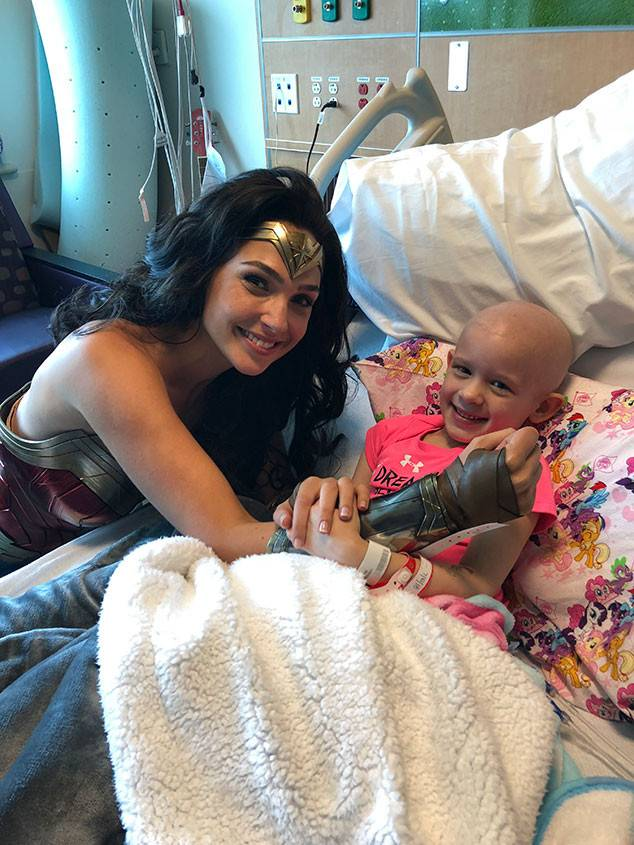 Comentarios en Twitter sobre la visita de Gal Gadot en el hospital