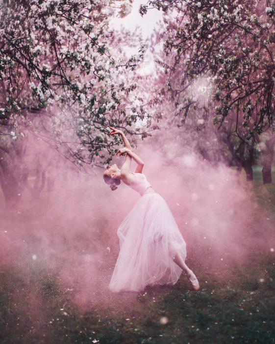chica bailando ballet