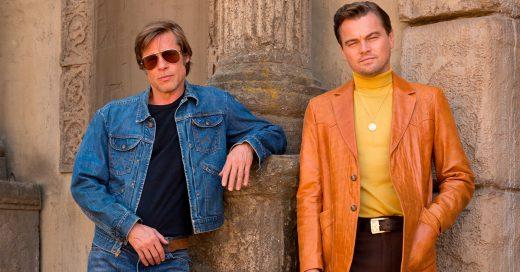 Leonardo DiCaprio y Brad Pitt están juntos en una película vintage y lucen más sexis que nunca