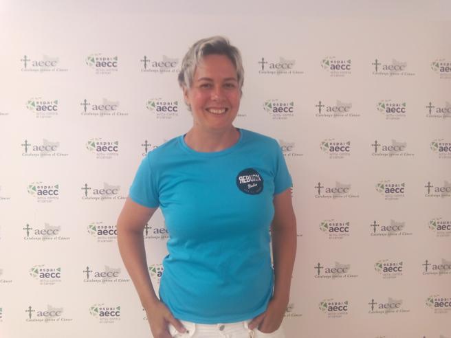 Patri Folch mujer que sobrevivió al cáncer invasivo