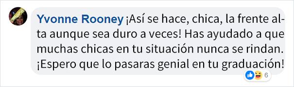 Comentarios en facebook sobre Niña sufrió bullying fue escoltada al baile