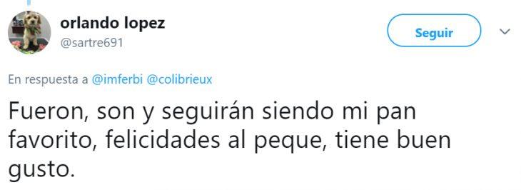 Comentarios en twitter sobre niño que tuvo una fiesta temática de conchas