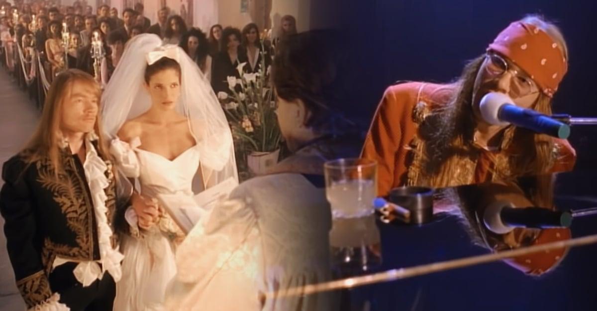 'November Rain' es la video de los 90 más visto en YouTube; ¡nuestro corazón rockero lo aprueba!