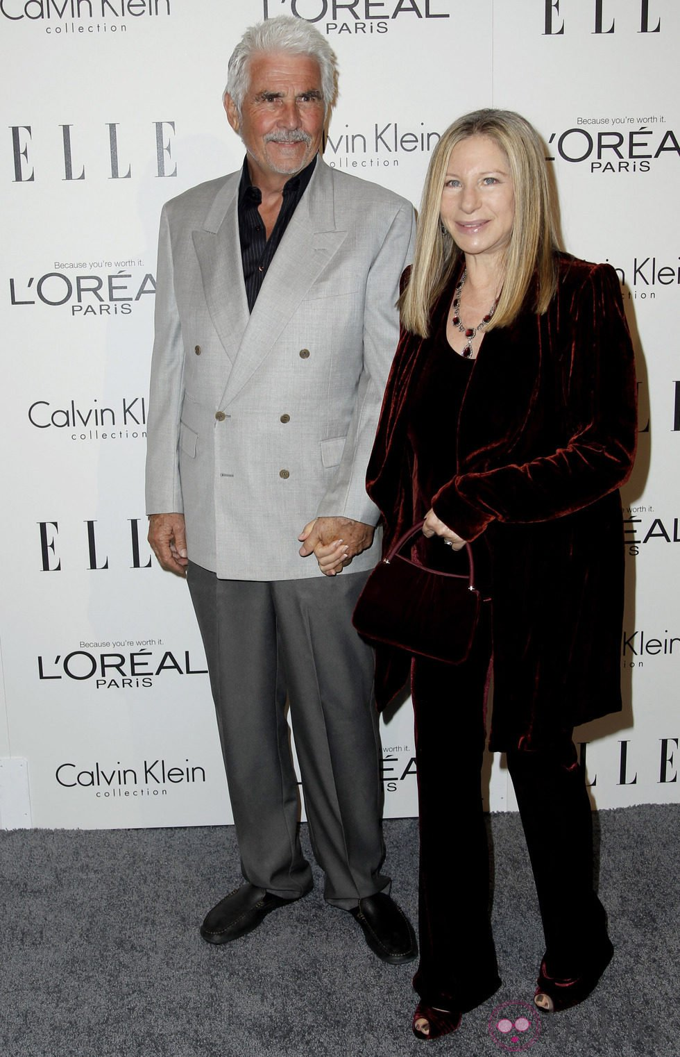 Barbara Streisand y James Brolin
