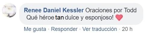 comentario Facebook