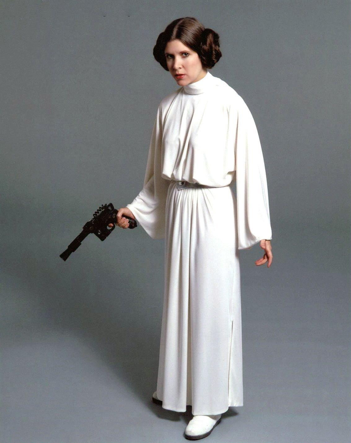 Vestido que aparece en la película de star wars