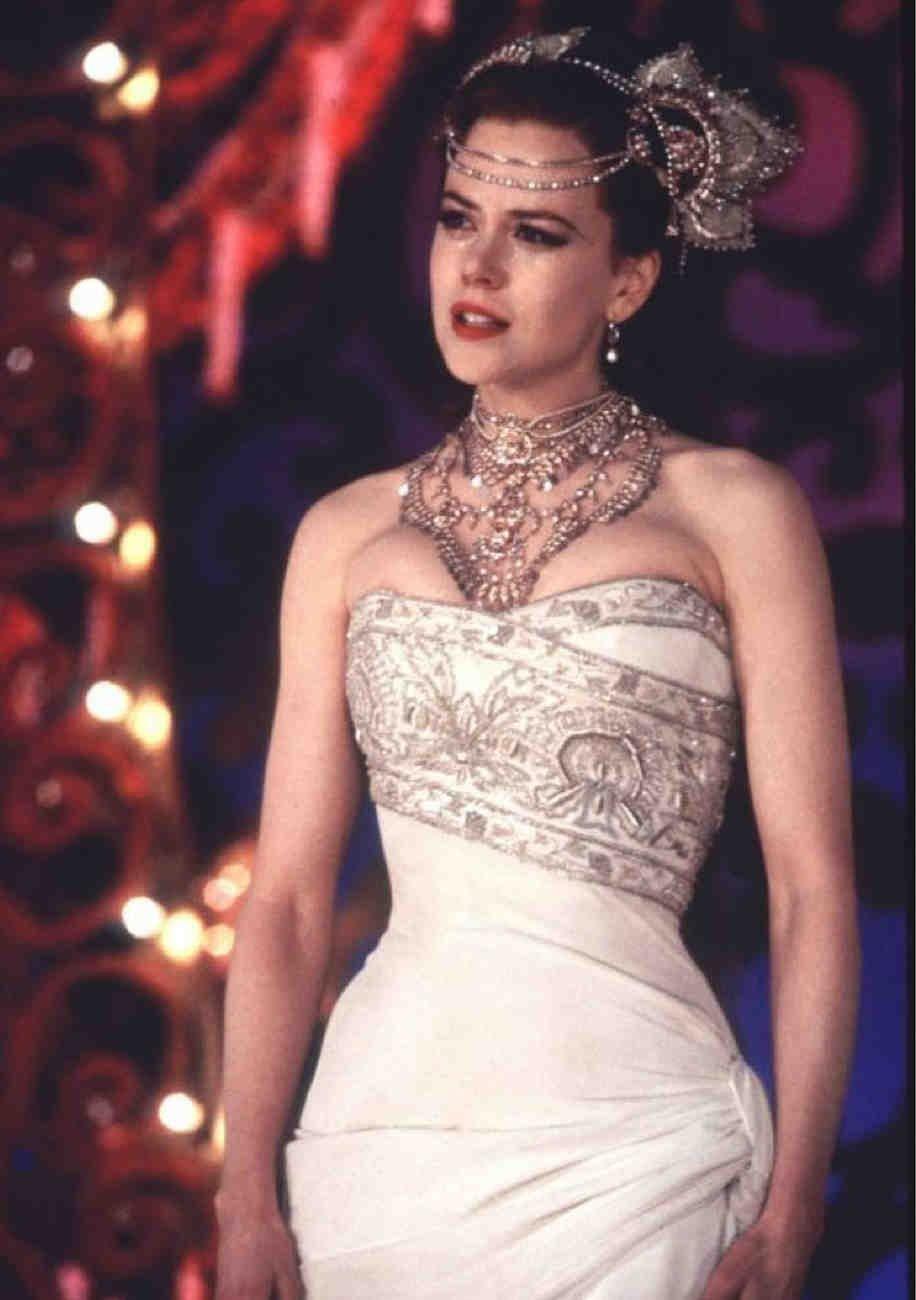 Vestido que aparece en la película de Moulin Rouge
