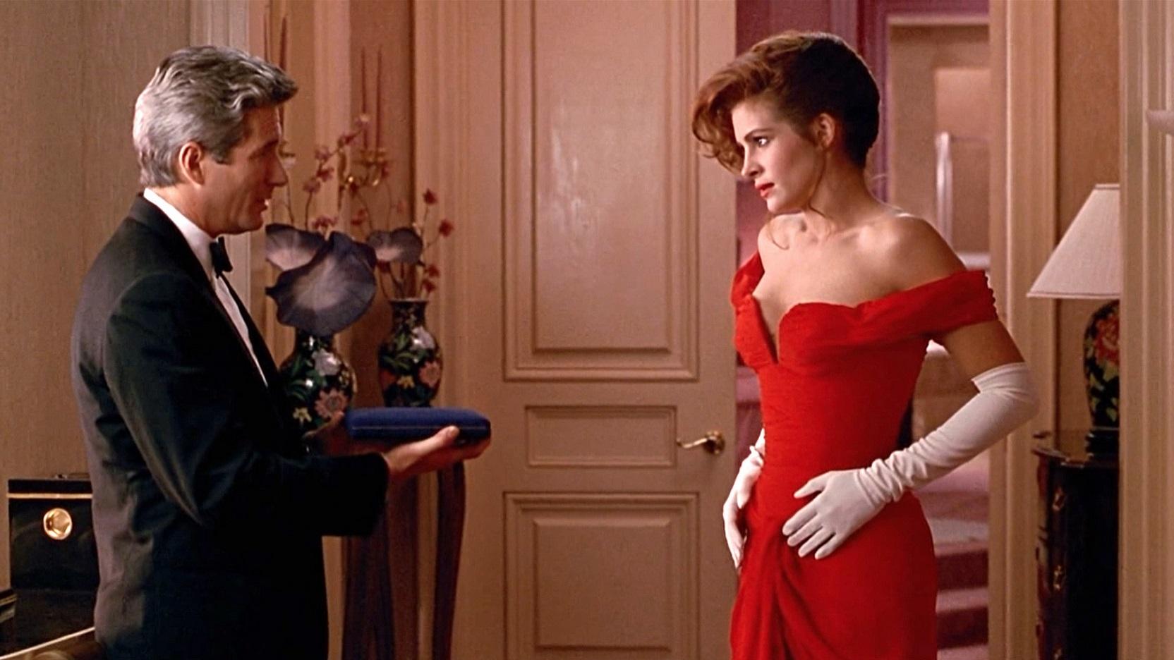 Vestido que aparece en la película de mujer bonita