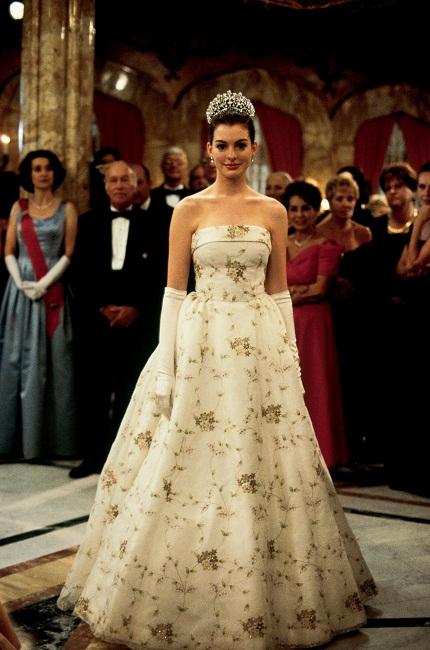 Vestido que aparece en la película de el diario de la princesa