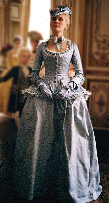 Vestido que aparece en la película de maria antonieta