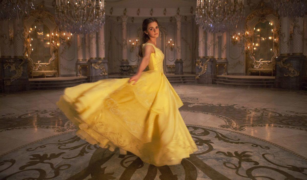 Vestido que aparece en la película de la bella y la bestia