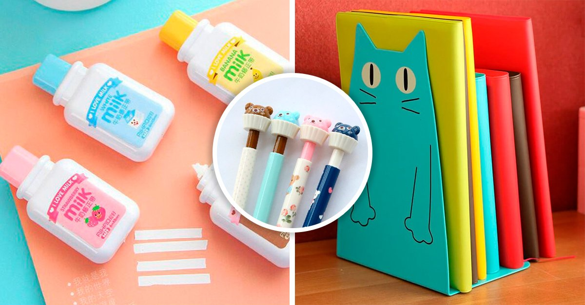 15 Accesorios de papelería que deberían estar sobre tu escritorio