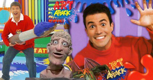 25 Cosas que solo entenderás si creciste viendo 'Art Attack'