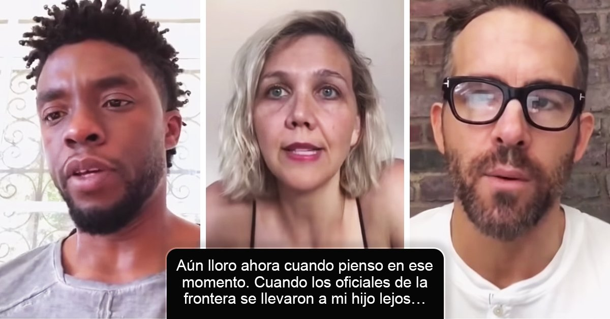 30 Celebridades le dan voz a una madre inmigrante que fue separa de su hijo