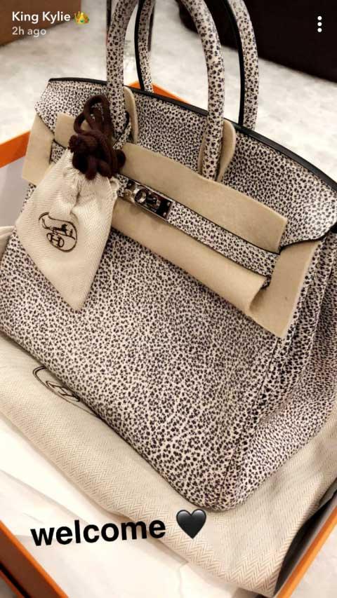 c87e5f435 Kylie Jenner mostró su enorme y costosa colección de bolsos