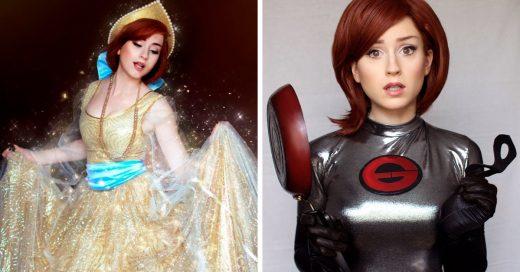Esta cosplayer hace transformaciones tan irreales que tendrás que mirar dos veces