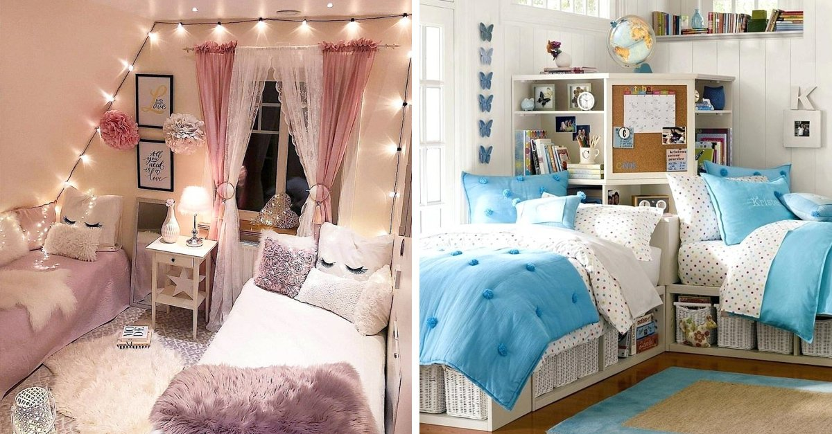 5 Ideas para decorar la habitación que compartes con tu hermana