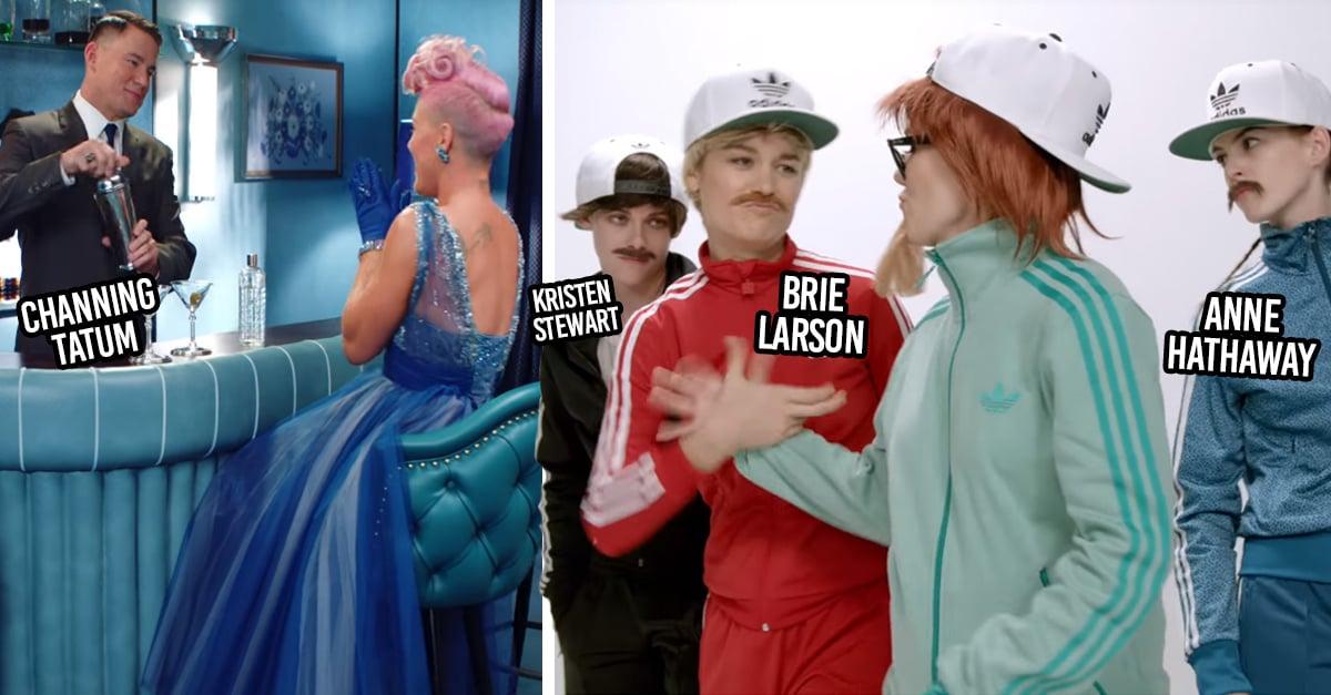 22 Ocasiones en las que tus celebridades favoritas aparecieron en videos musicales