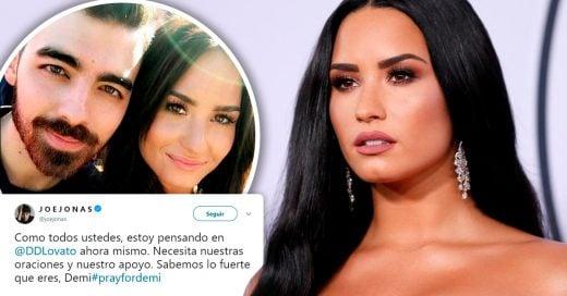 Famosos expresan sus buenos deseos a Demi Lovato