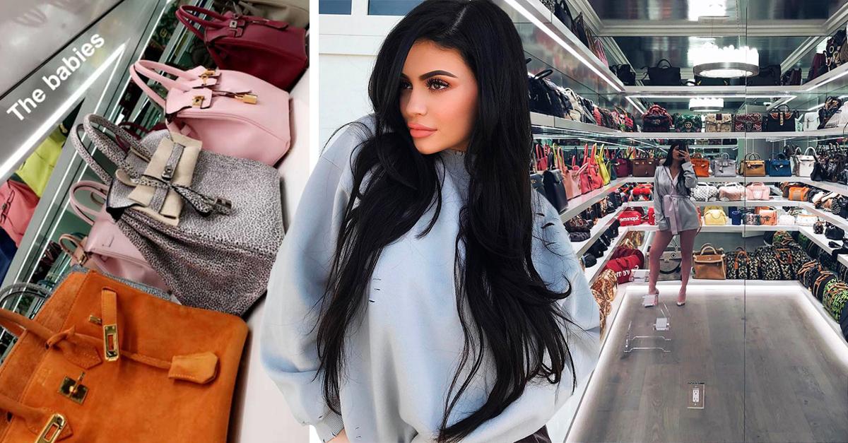 ylie Jenner tiene uno de los armarios más codiciados de todos