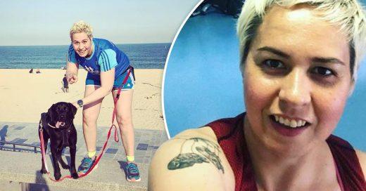 Esta mujer compitió contra su cáncer y al final ganó