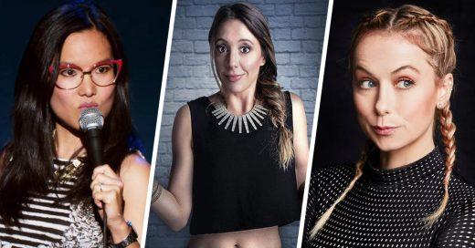 9 mujeres que dominan el stand up