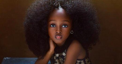 Esta niña es considerada la más hermosa del mundo