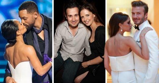 15 Parejas de famosos que ya tienen una década juntos