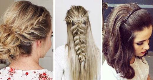 15 Peinados para niñas que son perfectos para tu graduación