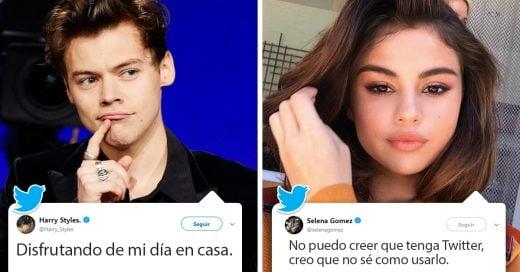 16 Celebridades que no tenían idea de qué escribir en su primer tuit