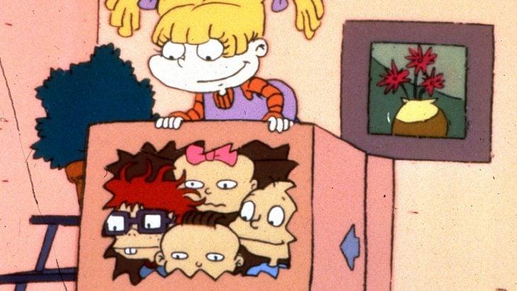 Escena de Los Rugrats