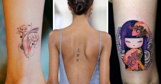 15 Tatuajes de la cultura japonesa que seguro amarás