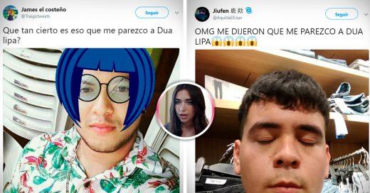 15 Veces en las que Twitter se burló de chicas que dicen: 'me parezco a Dua Lipa'