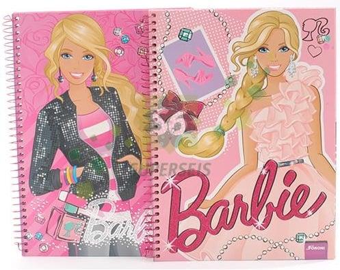 libretas de Barbie