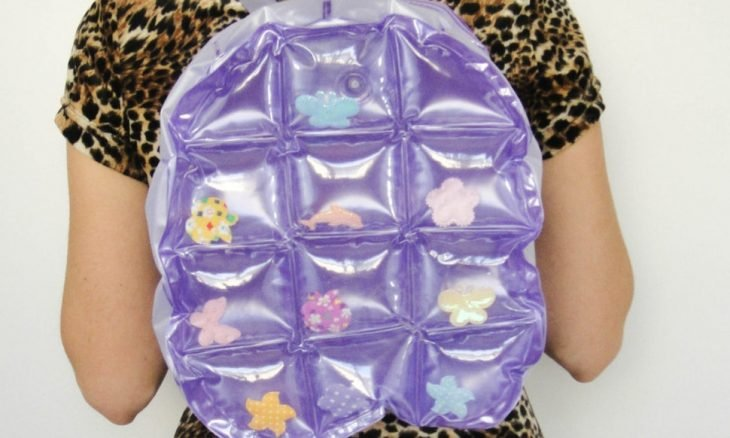mochilas de plástico inflable