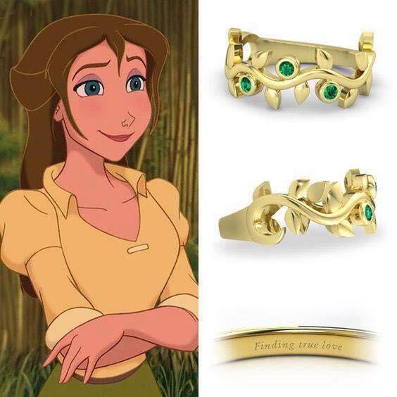 anillo para dama dorado