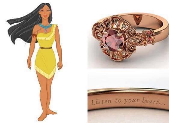 anillo para dama rosa pastel