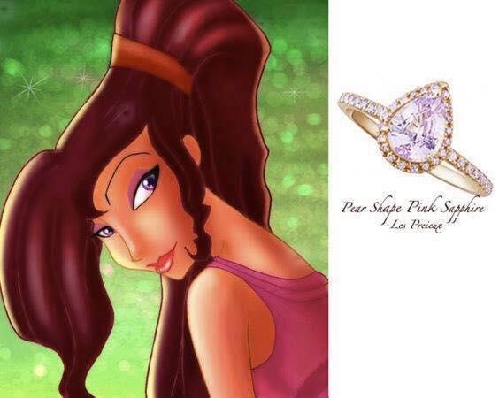 anillo para dama color lila
